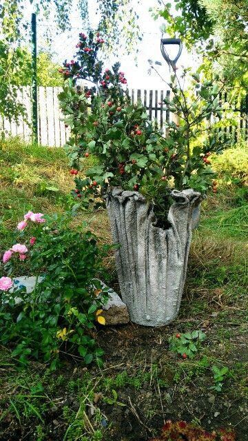 Vaza z betonu