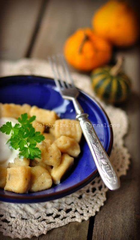Pumpkin Gnocchi / Тыквенные ньокки