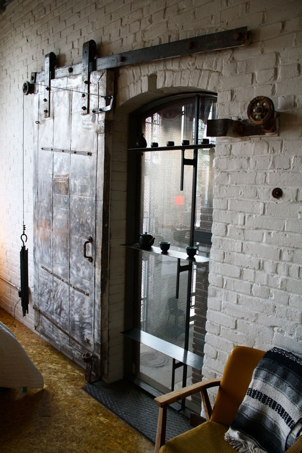 25 Best Ideas About Industrial Door On Pinterest Shop