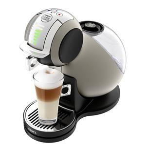 KRUPS - YY1652 _ Nescafé Dolce Gusto Melody 3 automatique - La machine à café nouvelle génération - Play & Select - Ses capsules brevetées indiquent le dosage idéal selon les 7 niveaux possibles et ajustent automatiquement la pression jusqu'à 15 bars - Système Thermoblock pour un préchauffage ultra-rapide - Mise en veille automatique au bout de 5 minutes - Réservoir d'eau amovible 1,3 litres - Repose tasse 3 niveaux + récolte gouttes - Puissance 1500 W - Coloris Titanium - Garantie 2 ans.