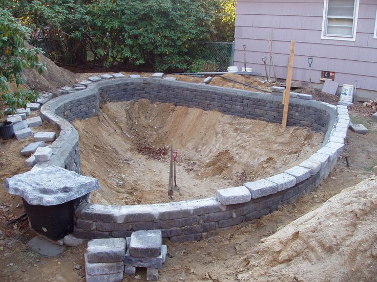Pond design and construction google search aquaponics for Garden pond design and construction