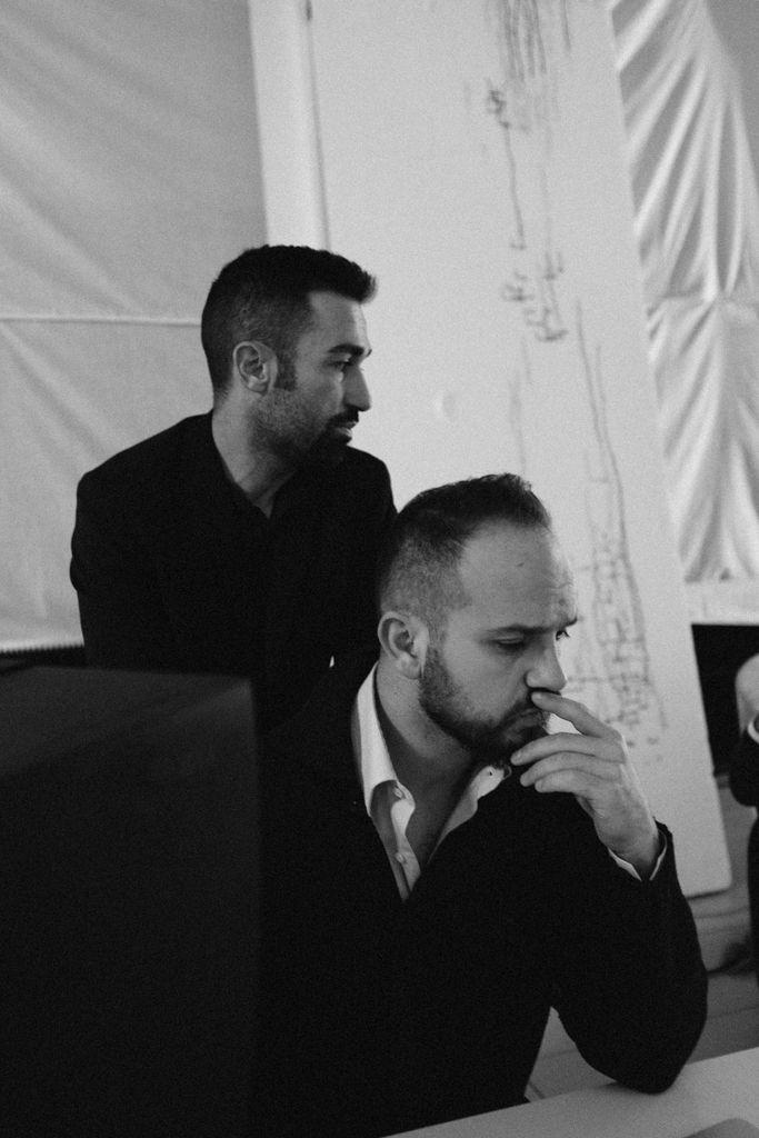 Work in progress backstage Casamilano new collection 2017. Style: Bruno Tarsia Photo Lorenzo Pennati