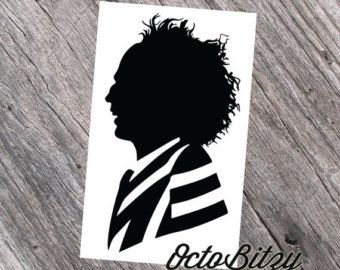 Beetlejuice Silhouette Vinyl Decal Sticker Silhouette Vinyl Personalized Vinyl Decal Vinyl