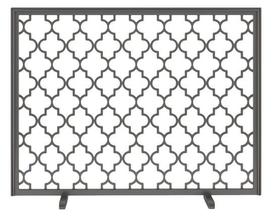 Decora Brooklyn Fireplace Screen  Traditional, Transitional, Metal, Fireplace Mantels  Accessory by Urban Ironcraft