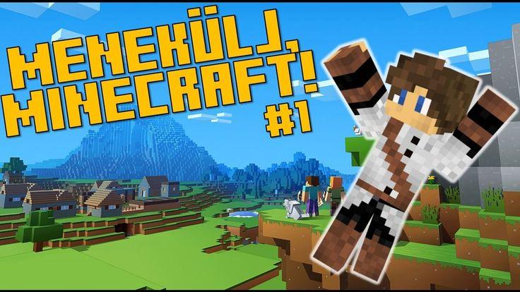 [ÉLŐ] 6 ÓRÁD VAN, HOGY LEGYŐZD!! Minecraft, Menekülj! #1