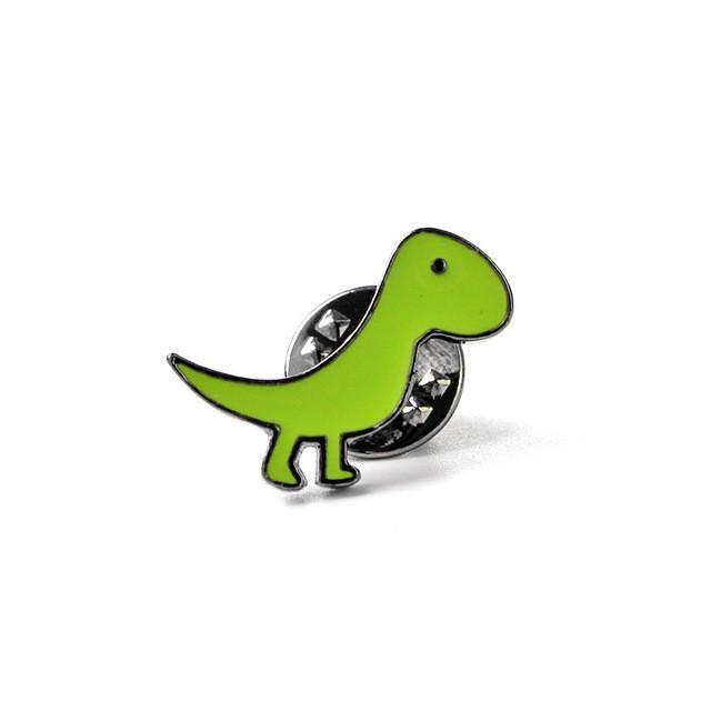 Cute Dinosaur Green T-Rex Jacket Pin Bag Pin Lapel Pin Hat Pin Teenager Best Gift