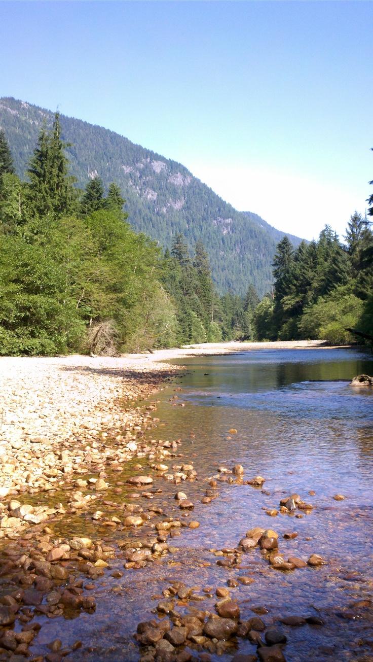 Seymour River in the North Shore Mountains