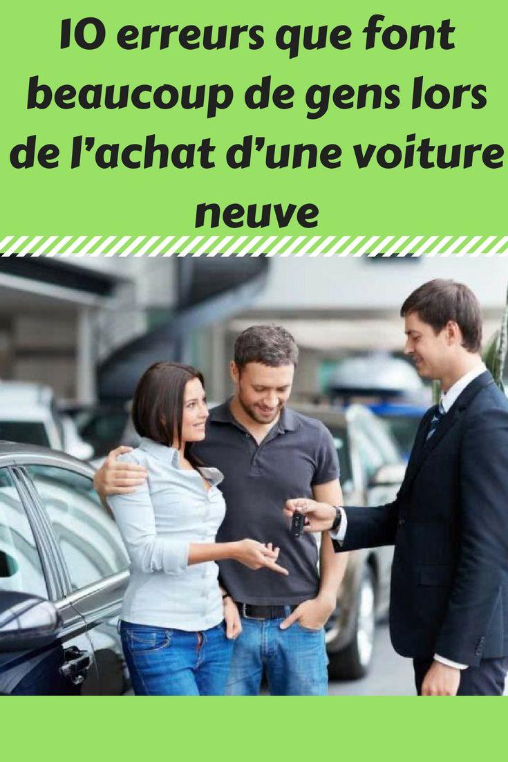 10 erreurs que font beaucoup de gens lors de l'achat d'une voiture neuve. . . . #voiture #achat #voitures #neuves #acheter #erreurs