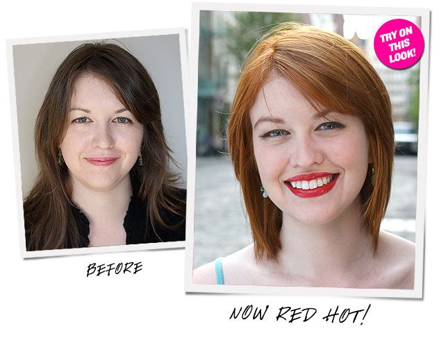 Brighten features by going red for the summer!