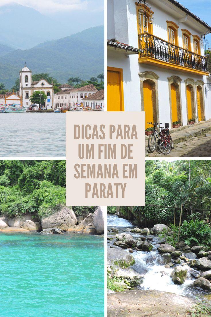 Construções charmosas, história, praias, cachoeiras... Paraty, no litoral do Rio de Janeiro, tem tudo isso e muito mais!