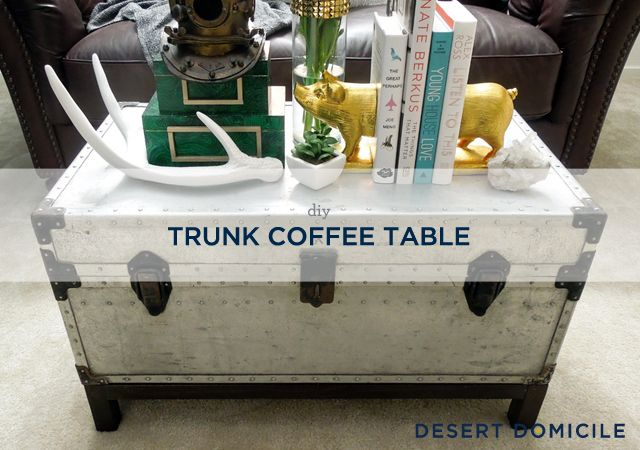 Best 25 Trunk Coffee Tables Ideas On Pinterest Wood