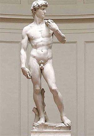 Esta escultura es muy famosa, pero la he cogido porque me encanta, como representa la pose en la que está, la cara.