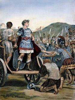 Cayo Julio Cesar (100 a.C.-44 a.C.)