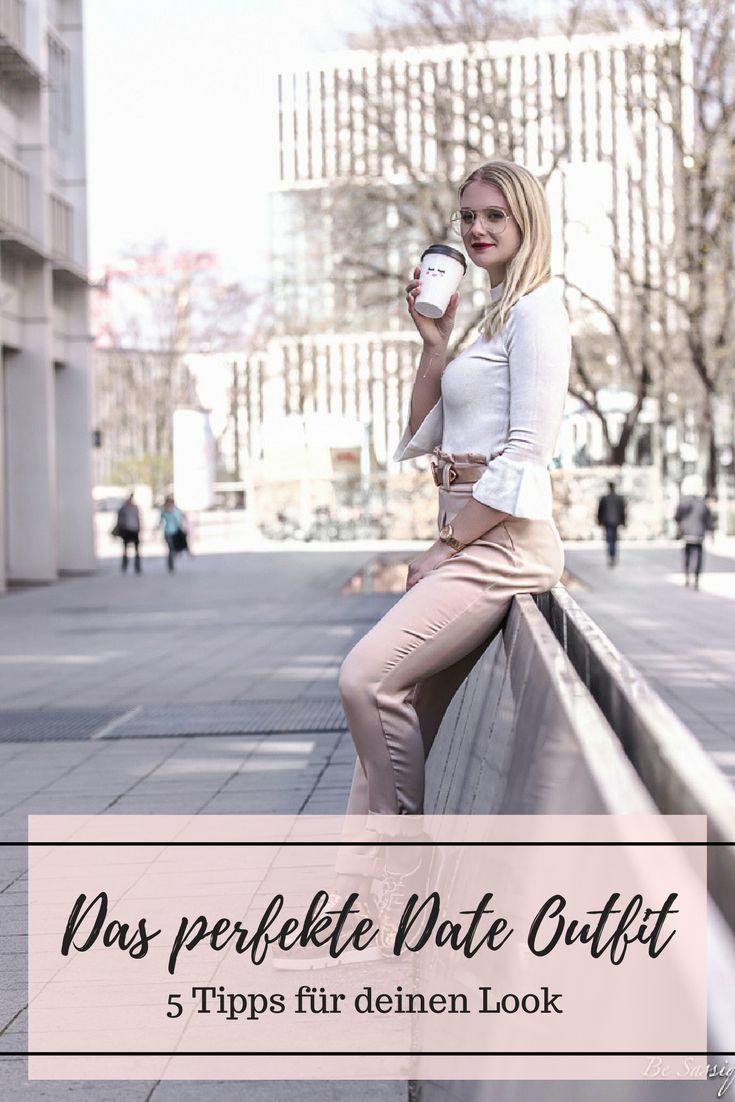 What to wear for your first date  - the perfect date outfit for spring Dein Outfit für das erste Date ist nicht nur wichtig, um gut auszusehen, sondern auch, um zu zeigen wer du bist. Daher gibt es auf meinem Modeblog einige Tipps wie du den perfekten Look für dein erstes Date findest.  blogger outfit: street style, volants, metallic
