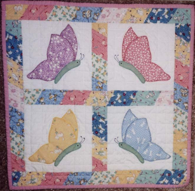 185 Best Vintage Butterfly Quilts Images On Pinterest