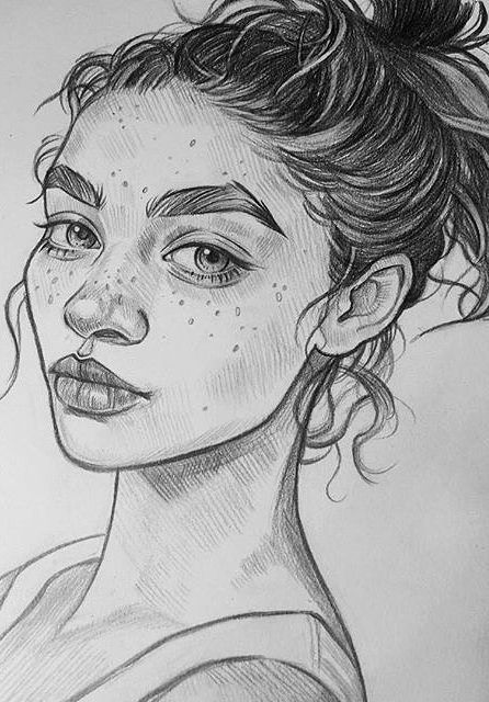 38 Awesome Woman Drawing Art ! How To Women Drawing. New Images Part 22