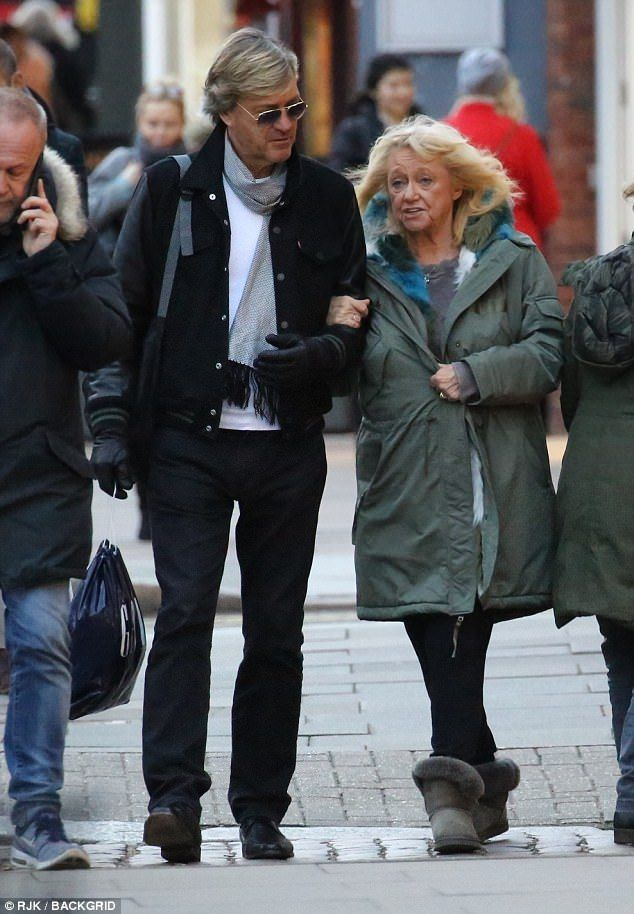 Black #Cosmopolitan Judy Finnigan shows off svelte figure on London outing   #ITV, #JudyFinnigan, #Madeley, #RichardAndJudy, #RichardMadeley, #Television, #TelevisionInTheUnitedKingdom, #ThisMorning         She has been looking noticeably slimmer recently, after converting a clean eating lifestyle according to her daughter Chloe Madeley. And Judy Finnigan continued to look both youthful and svelte as she stepped out in Hampstead on Friday. The 69-year-old TV presenter spo