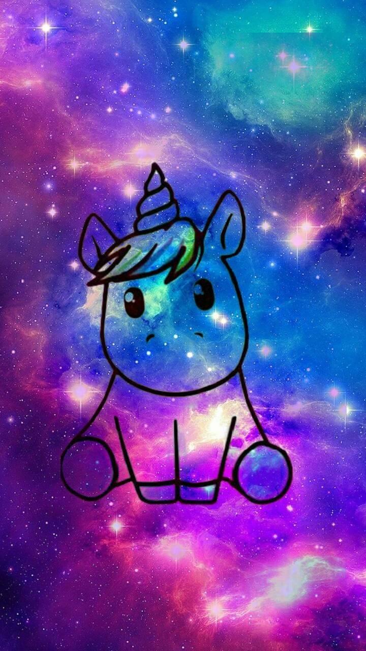 Download Galaxy Unicorn Wallpaper By Bluejacketfaith 02 Free On Zedge Now Browse Milli Galaxie Hintergrundbild Einhorn Tapete Niedliche Hintergrundbilder