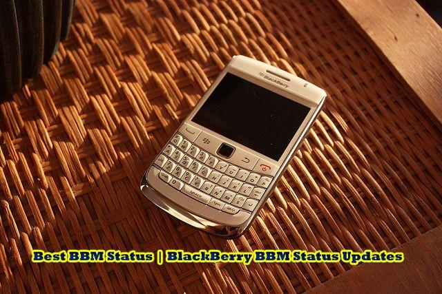 250+ Best BBM Status | BlackBerry BBM Status Updates