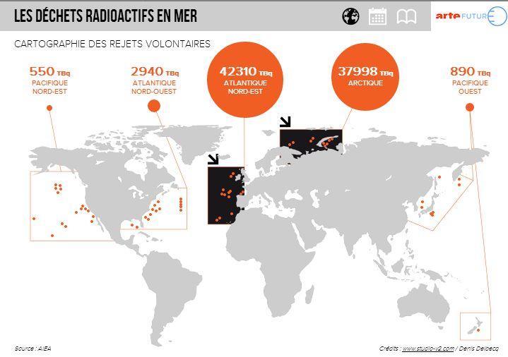 Le risque de catastrophe nucléaire ne s'arrête pas aux centrales elles-même, il persiste bien au delà sous la forme de déchets disséminés de par le monde. Alors que pour Areva qui veut nous f…