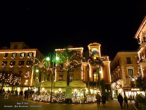 Sorrento, Atmosfera incantevole natalizia