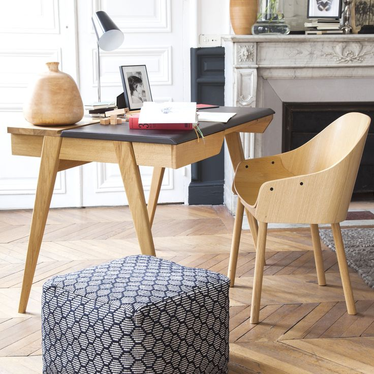 Beckett des mat riaux nobles pour un design contemporain for Pouf contemporain