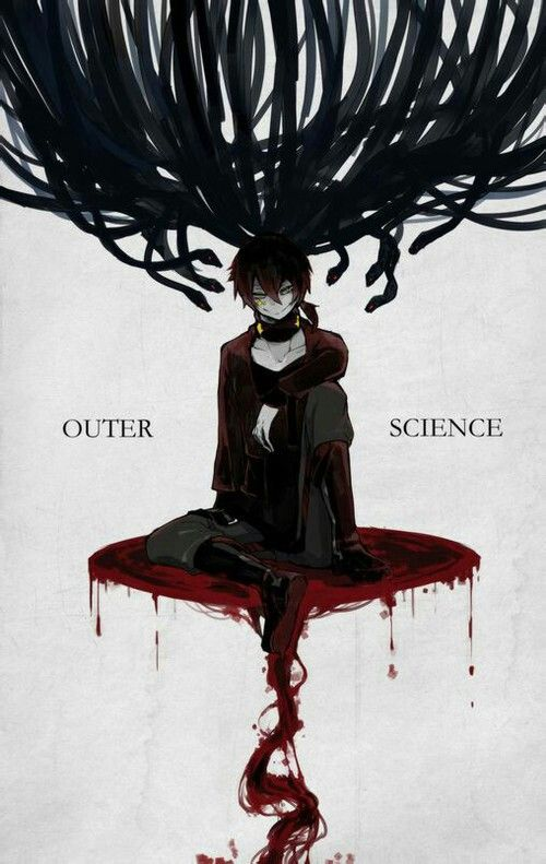 """""""Outer Science""""~this song is really dark and from what I gather from YouTube comments, the story is even darker than what's revealed in the song (I'm reading the manga and I'm gonna read the light novel, but it isn't released in the US yet T-T)"""