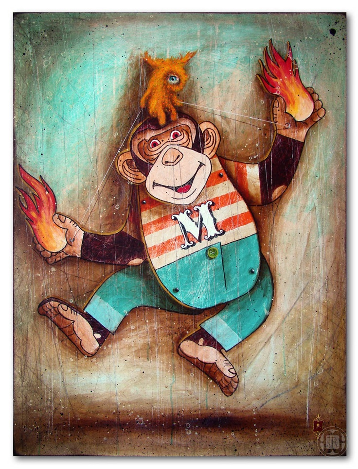 Super Monkey  http://pantonedesign.blogspot.com/