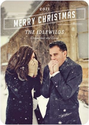 gorgeous holiday card idea