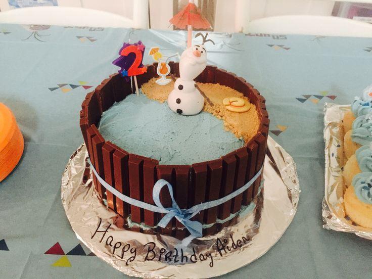 10 best Aidens birthday images on Pinterest Kit kat cakes Frozen