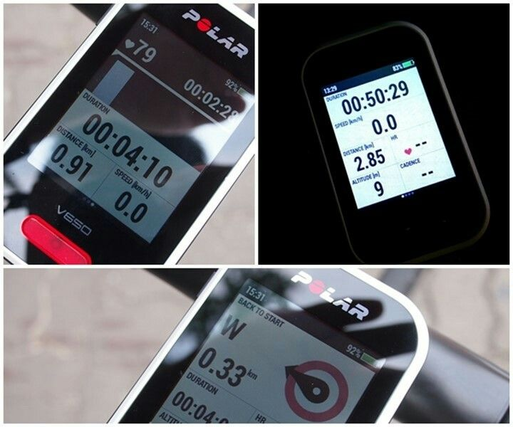 폴라 V650   Cycling Computer.. !!  ♥♥