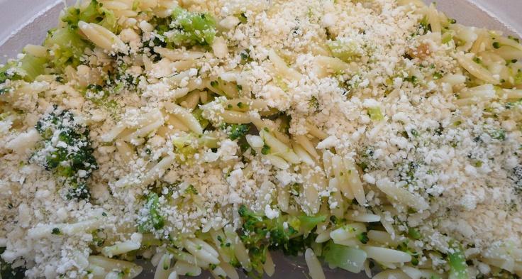 Broccoli and Orzo | Recipe