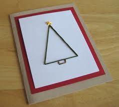 easy handmade christmas cards - Google Search
