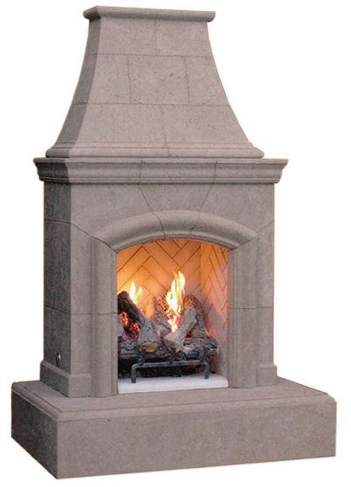 Patioproductsusa Chica 72 Fire Pit Outdoor Gas Fireplace