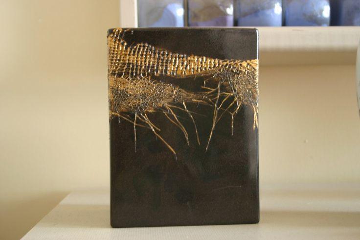 Les 25 meilleures id es concernant peindre des vases sur pinterest artisana - Peindre sur verre 100 modeles originaux ...