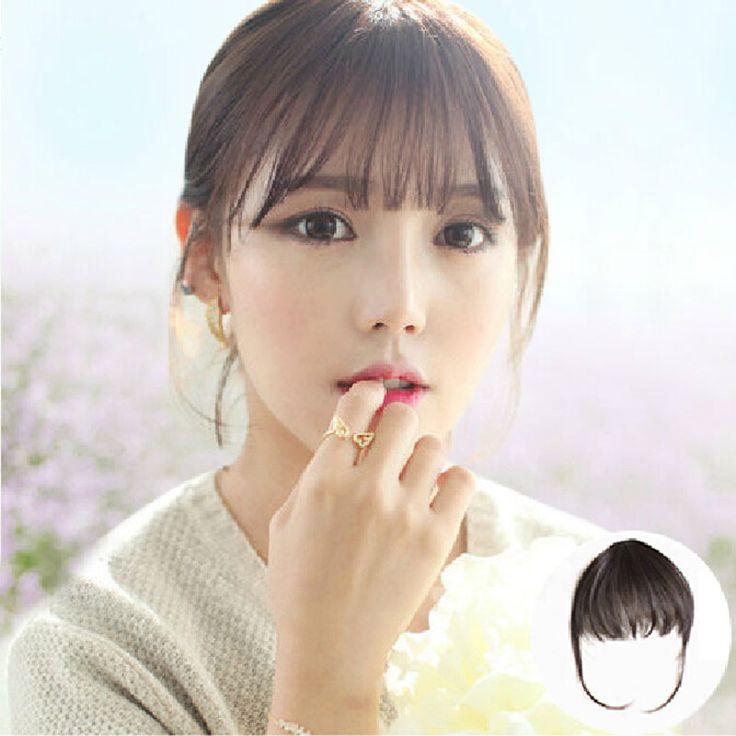 False Fringe Bangs Wig Korean Korean Thin Air Film