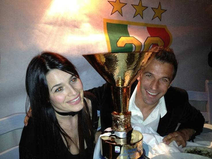 Del Piero e Sonia due Campioni