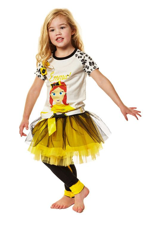 View product image in popup: The Wiggles - Girls Emma Tulle Skirt [Size: 3] $20.99
