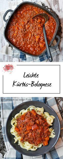 Leichte Kürbis-Bolognese