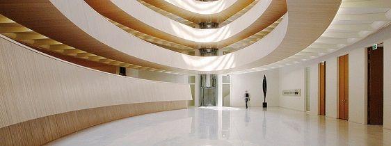 La nouvelle bibliothèque de droit de l'Université de Zürich inaugurée en novembre 2004