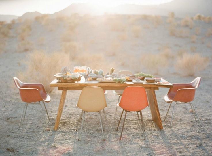dinner in the desert | rue magazine