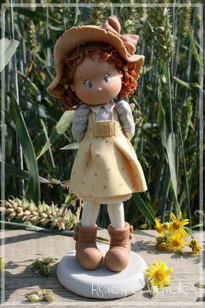 Фигурки девочек-Girl Cake topper figurines - Мастер-классы по украшению тортов Cake Decorating Tutorials (How To's) Tortas Paso a Paso