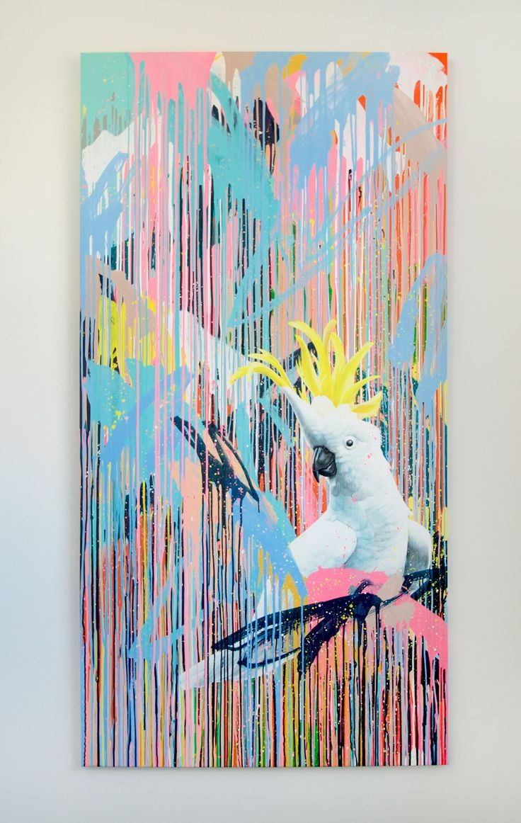 'Bondi' Geoffrey Carran colab commission with Rowena Martinich 250cm x 125cm