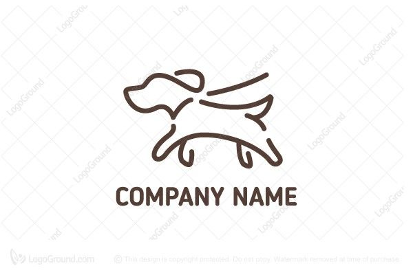 Logo for sale: Dog Walking Logo