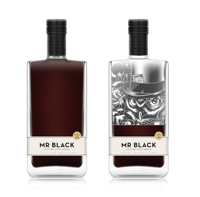 MR BLACK Cold Drip Coffee Liqueur on Packaging of the World - Creative Package Design Gallery