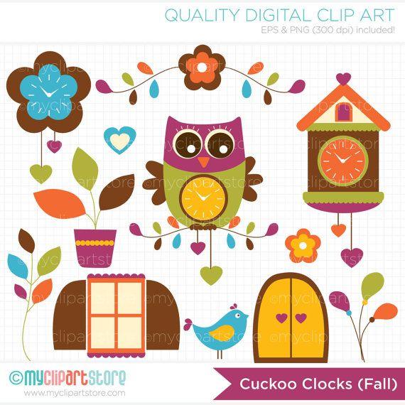 cuckoo clock clip art free - photo #40