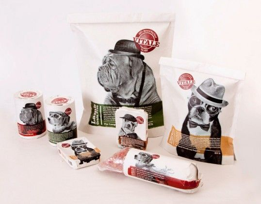 .: Graphic Design, Food Packaging, Dogs, Sergey Grigoryan, Package Design, Dog Food, Packaging Design, Vitale Dog, Pet Food