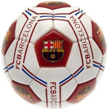 Ideaal voor de kleine en grote FC Barcelona fans! Deze voetbal heeft een uniek design en is van zeer goede kwaliteit gemaakt.   Afmeting: 148x75x146 mm - Bal barcelona leer middel wit logo