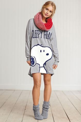 Buy Snoopy Nightshirt from the Next UK online shop