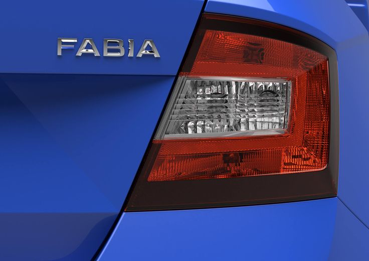 The rear lights of ŠKODA Fabia pay homage to the Bohemian heritage of glass art with its high degree of precision.  http://www.skoda-auto.com/en/models/new-fabia/